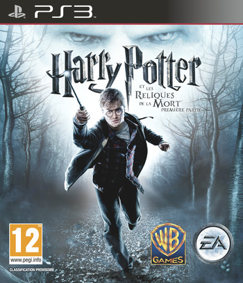 Harry Potter et Les Reliques de la Mort Part 1 PS3 coverM (BLES00931)