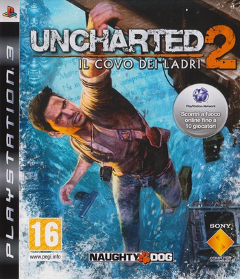 Uncharted 2: Il covo dei ladri PS3 coverM (BCES00509)