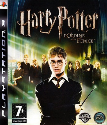 Harry Potter e l'Ordine della Fenice PS3 coverM (BLES00071)