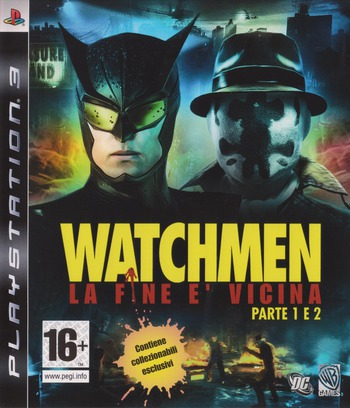 Watchmen: La Fine E' Vicina - Parte 1&2 PS3 coverM (BLES00605)