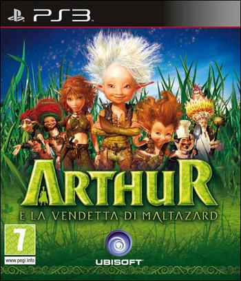 Arthur e la Vendetta di Maltazard PS3 coverM (BLES00772)