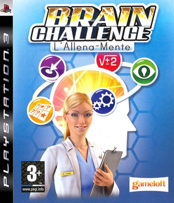 Brain Challenge: L'Allena-Mente PS3 coverM (BLES30213)