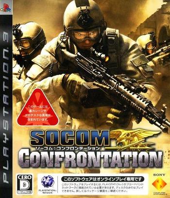 ソーコム:コンフロンテーション PS3 coverM (BCJS30025)