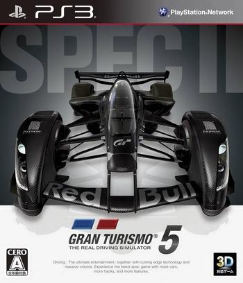 グランツーリスモ5 Spec II PS3 coverM (BCJS30100)