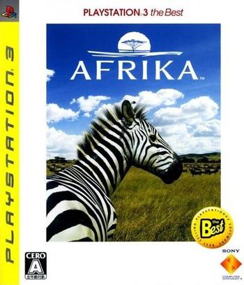 アフリカ (PlayStation 3 the Best) PS3 coverM (BCJS70008)