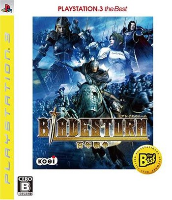 ブレイドストーム 百年戦争 PS3 coverM (BLJM55003)