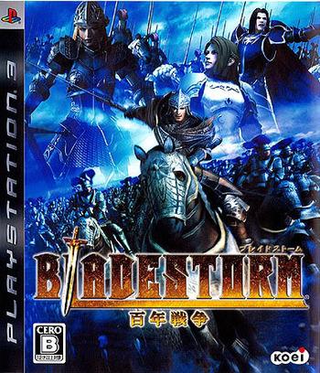 ブレイドストーム 百年戦争 PS3 coverM (BLJM60009)