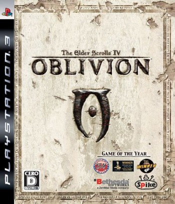 The Elder Scrolls IV: オブリビオン PS3 coverM (BLJM60032)