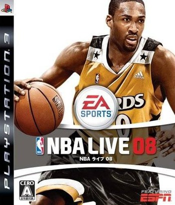 NBA ライブ 08 PS3 coverM (BLJM60045)
