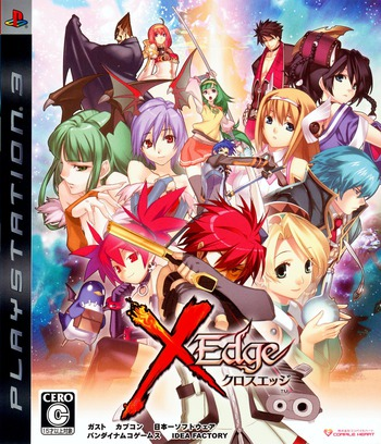 クロスエッジ PS3 coverM (BLJM60086)