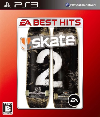 スケート 2 (EA Best Hits) PS3 coverM (BLJM60201)