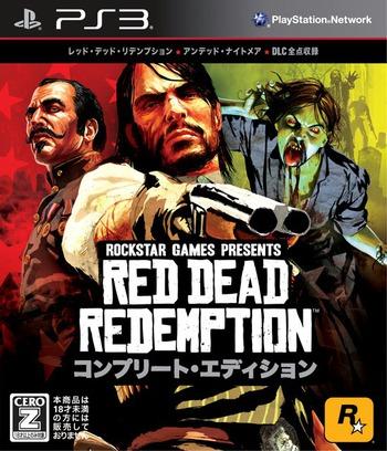 レッド・デッド・リデンプション コンプリート・エディション PS3 coverM (BLJM60403)