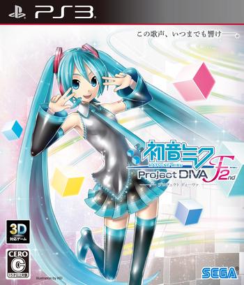 初音ミク Project DIVA F 2nd PS3 coverM (BLJM61079)