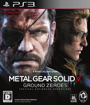 メタルギア ソリッド V グラウンド・ゼロズ PS3 coverM (BLJM61135)