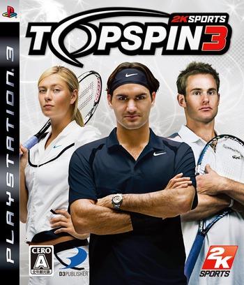 トップスピン3 PS3 coverM (BLJS10052)