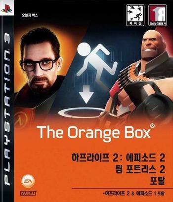 하프라이프 2:오렌지박스 PS3 coverM (BLKS20015)