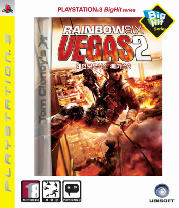 레인보우식스베가스2 (Big Hit) PS3 coverM (BLKS20109)