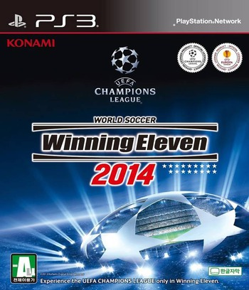World Soccer Winning Eleven 2014 PS3 coverM (BLKS20438)