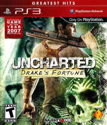 Uncharted: Drake's Fortune (Greatest Hits) PS3 coverM (BCUS90640)