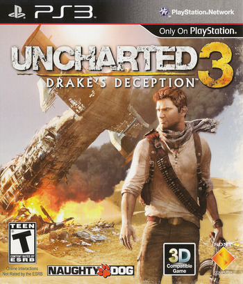 Uncharted 3: Drake's Deception PS3 coverM (BCUS90675)
