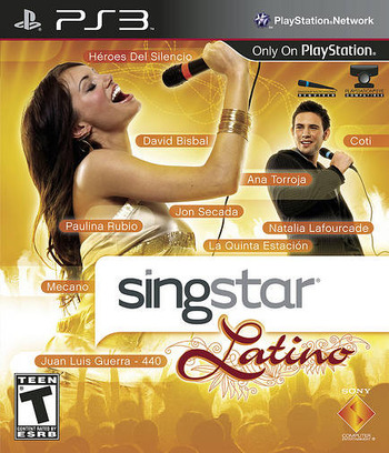 SingStar Latino PS3 coverM (BCUS94344)