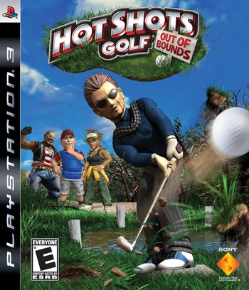 Hot Shots Golf: Out of Bounds PS3 coverM (BCUS98115)
