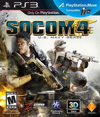 SOCOM 4: U.S. Navy SEALs PS3 coverM (BCUS98135)