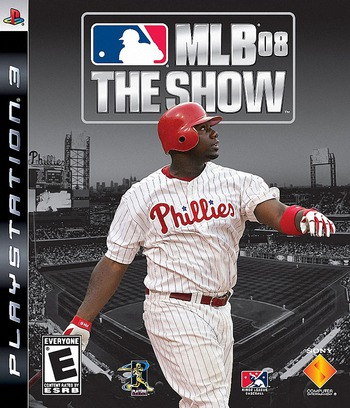 MLB '08: The Show PS3 coverM (BCUS98141)