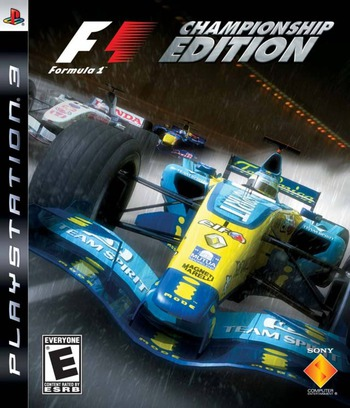 Formula One: Championship Edition PS3 coverM (BCUS98142)