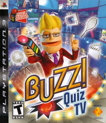 Buzz! Quiz TV (Bundle) PS3 coverM (BCUS98145)