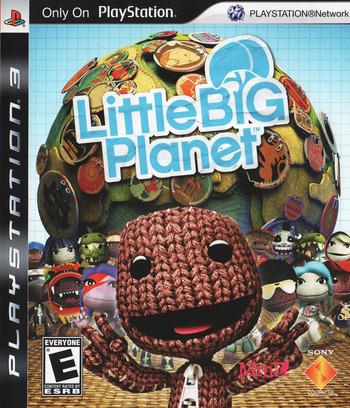 LittleBigPlanet PS3 coverM (BCUS98148)