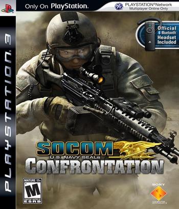 SOCOM: U.S. Navy SEALs - Confrontation PS3 coverM (BCUS98152)