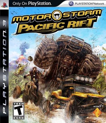 MotorStorm: Pacific Rift PS3 coverM (BCUS98155)
