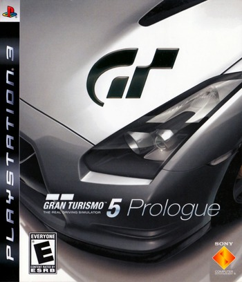 Gran Turismo 5: Prologue PS3 coverM (BCUS98158)