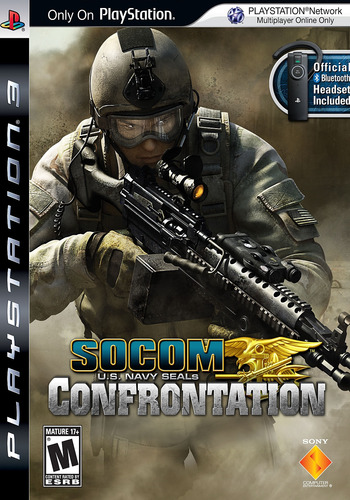 SOCOM: U.S. Navy SEALs - Confrontation PS3 coverM (BCUS98183)