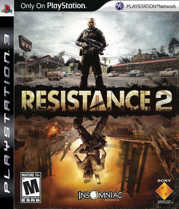 Resistance 2 (Collector's Edition) PS3 coverM (BCUS98190)