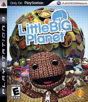 LittleBigPlanet PS3 coverM (BCUS98199)