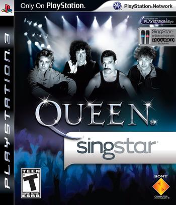 SingStar Queen PS3 coverM (BCUS98206)