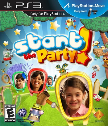 Start the Party! PS3 coverM (BCUS98220)