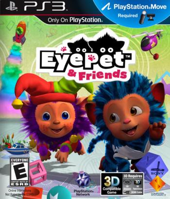 EyePet & Friends PS3 coverM (BCUS98235)