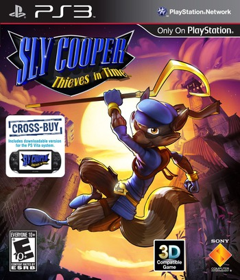 Sly Cooper: Thieves in Time PS3 coverM (BCUS98247)