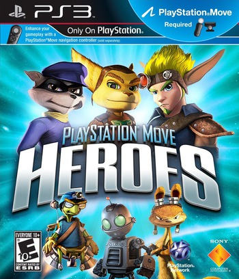 Playstation Move Heroe PS3 coverM (BCUS98248)