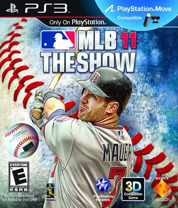 MLB 11: The Show PS3 coverM (BCUS98251)