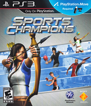 Sports Champions (Bundle) PS3 coverM (BCUS98262)