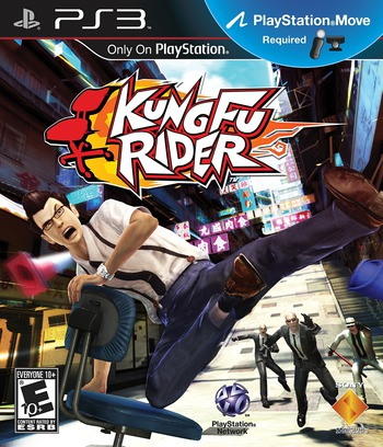 Kung Fu Rider PS3 coverM (BCUS98270)