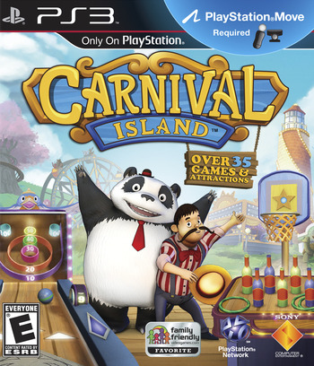 Carnival Island PS3 coverM (BCUS98271)