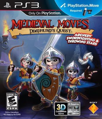 Medieval Moves: Deadmund's Quest PS3 coverM (BCUS98279)