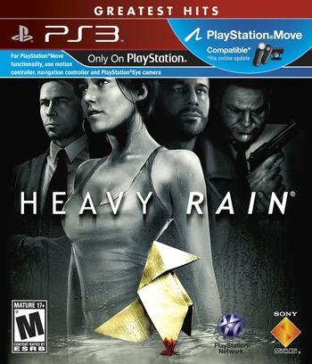 Heavy Rain (Greatest Hits) PS3 coverM (BCUS98280)