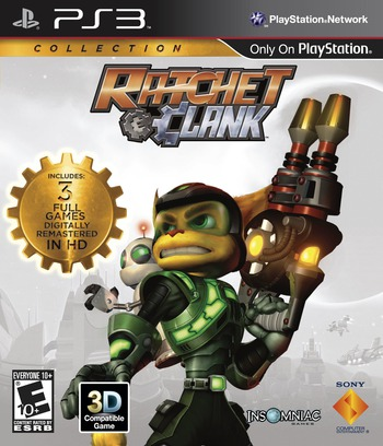 Ratchet & Clank Collection PS3 coverM (BCUS98282)