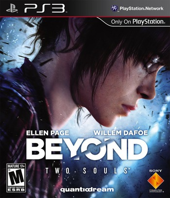 Beyond: Two Souls PS3 coverM (BCUS98298)